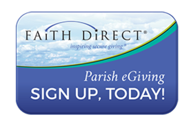 Faith Direct Parish eGiving, Sign Up Today!