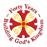 Forty Years Building God's Kingdom logo
