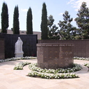 The Columbarium resides in the main garden.  It is round in shape to symbolize eternity - neither having a beginning nor an end.